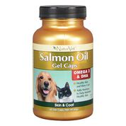 NaturVet Salmon Oil Gel Caps