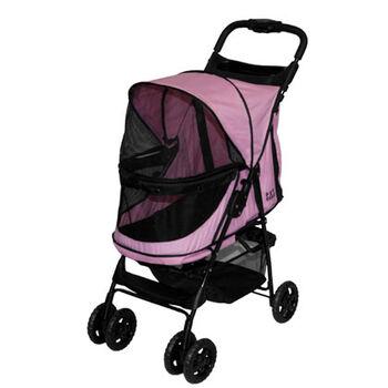 Pet Gear Happy Trails No Zip Pet Stroller - Pink Diamond product detail number 1.0
