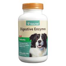 NaturVet Digestive Enzymes Plus Probiotic Tablets-product-tile