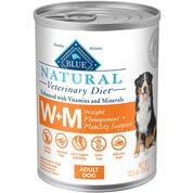 BLUE Natural Veterinary Diet W+M Weight Management + Mobility Support Wet Dog Food-product-tile