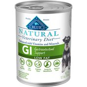 BLUE Natural Veterinary Diet GI Gastrointestinal Support Low Fat Wet Dog Food-product-tile