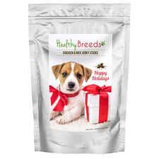 Healthy Breeds Happy Holidays Chicken & Rice Recipe Jerky Sticks Dog Treats-product-tile
