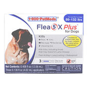 Flea5X Plus - Generic to Frontline Plus 6pk Dogs 89-132 lbs-product-tile
