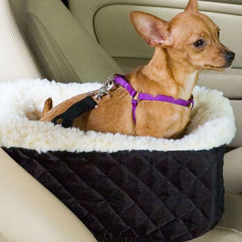 Snoozer Console Pet Car Seat - Large Black product detail number 1.0