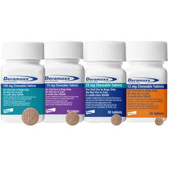 Deramaxx 100 mg Chewable Tablets 30 ct