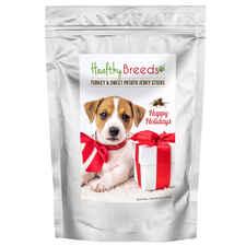 Healthy Breeds Happy Holidays Turkey and Sweet Potato Recipe Jerky Sticks Dog Treats-product-tile