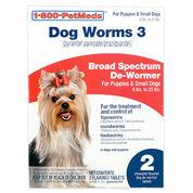 Dog Worms 3 Sm Dog 2ct
