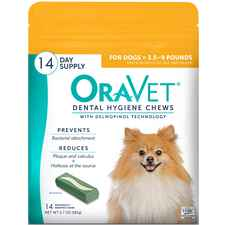 OraVet Dental Hygiene Chews X-Small 14 ct-product-tile