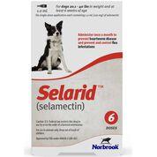 Selarid (Selamectin) Dogs 20.1-40 lbs 6 pk-product-tile