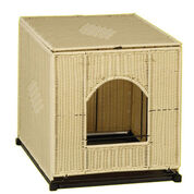Mr. Herzher's Wicker Litter Box Cover