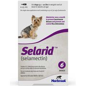 Selarid (Selamectin) Dogs 5.1-10 lbs 12 pk-product-tile