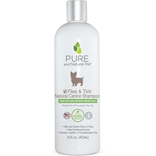 Pure and Natural Pet Flea and Tick Shampoo-product-tile