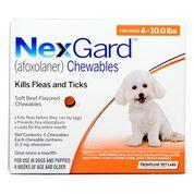 NexGard Chewables 6pk 4-10 lbs-product-tile