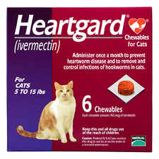 Heartgard Chewables for Cats 6pk Purple 5-15 lbs-product-tile