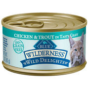 Blue Buffalo Wilderness Wild Delights Canned Cat Food