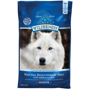 Blue Buffalo Wilderness Senior Dry Dog Food Chicken 24 lb product detail number 1.0