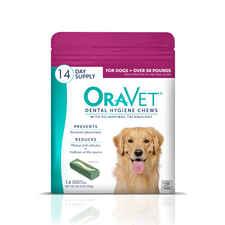 OraVet Dental Hygiene Chews Large 14 ct-product-tile