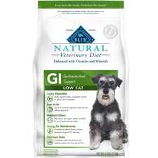 BLUE Natural Veterinary Diet GI Gastrointestinal Support Low Fat Dry Dog Food-product-tile