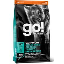 Petcurean GO! CARNIVORE Grain Free Chicken, Turkey + Duck Adult Recipe for dogs-product-tile