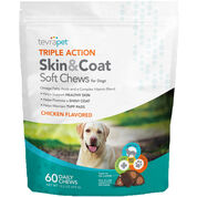 TevraPet Triple Action Skin & Coat Soft Chews-product-tile
