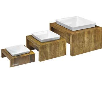 Bowsers Artisan Single Wood Feeder