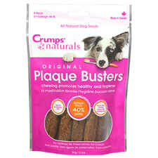 Crumps' Naturals Plaque Busters Dental Chews 8pk-product-tile