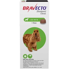 Bravecto Chews 4 Dose Medium Dog 22-44 lbs-product-tile