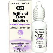 Artificial Tears Solution Eye Drops