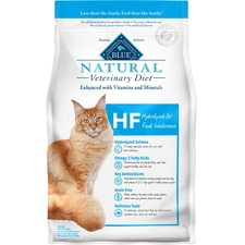 BLUE Natural Veterinary Diet HF Hydrolyzed for Food Intolerance Dry Cat Food-product-tile