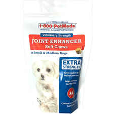 Veterinary Strength Joint Enhancer with MSM Soft Chews for Small and Medium Dogs 84 ct-product-tile
