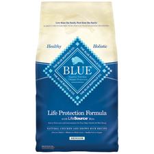 Blue Buffalo Chicken & Brown Rice Senior Dog Food-product-tile