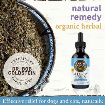 Earth Animal Allergy & Skin Organic Herbal Remedy
