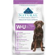 BLUE Natural Veterinary Diet W+U Weight Management + Urinary Care Dry Dog Food-product-tile