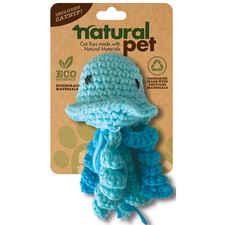 Natural Pet Crochet Octopus Cat Toy-product-tile
