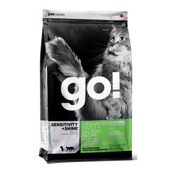 Go! Sensitivity + Shine Grain Free Freshwater Trout Recipe 3lb product detail number 1.0