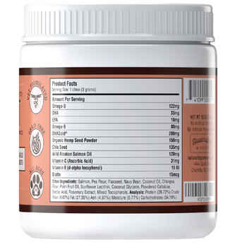 Natural Dog Company Skin & Coat Supplement Chews