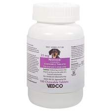 Novox Carprofen - Generic to Rimadyl 25 mg Chewable Tablets 180 ct-product-tile