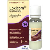 Loxicom - Generic to Metacam 1.5 mg/ml Oral Susp 32 ml-product-tile