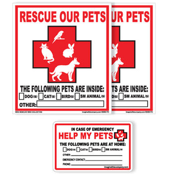 Rescue Our Pets Sign
