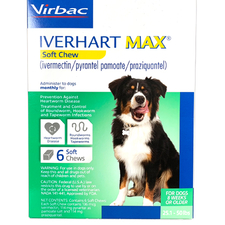 Iverhart Max Chewable Tablets For Dogs 25.1-50lbs 12pk-product-tile