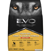 EVO Grain Free Formula Small Bites Adult Dry Dog Food