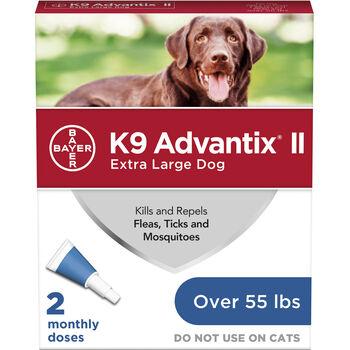 K9 Advantix II 2pk Blue Dog Over 55 lbs product detail number 1.0