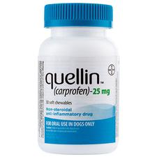 Quellin Carprofen Soft Chew - Generic to Rimadyl 25 mg chewables 30 ct-product-tile