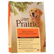 Nature's Variety Prairie Salmon Meal & Brown Rice Dry Dog Food