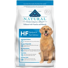 BLUE Natural Veterinary Diet HF Hydrolyzed for Food Intolerance Dry Dog Food-product-tile