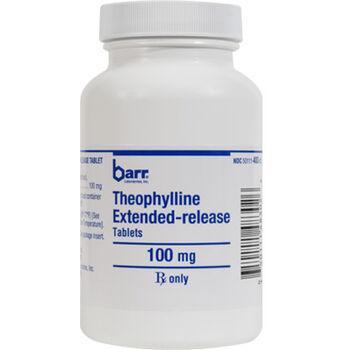 Theophylline ER 100 mg (sold per tablet) product detail number 1.0