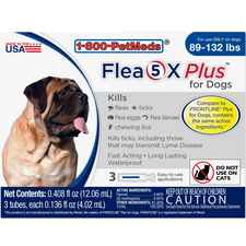 Flea5X Plus 12pk Dogs 89-132 lbs-product-tile