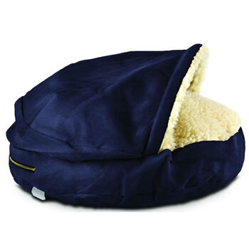 Snoozer Orthopedic Cozy Cave Pet Bed - Large Navy product detail number 1.0