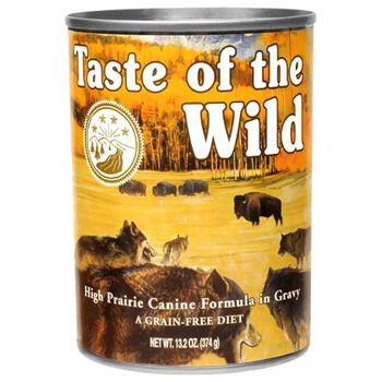 Taste Of The Wild Canned Dog Food High Prairie 12 x 13.2 oz product detail number 1.0