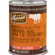 Merrick Grain Free 96% Real Texas Beef Canned Dog Food-product-tile